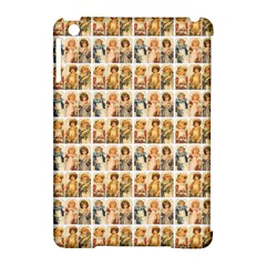 Victorian Girl Labels Apple Ipad Mini Hardshell Case (compatible With Smart Cover) by snowwhitegirl
