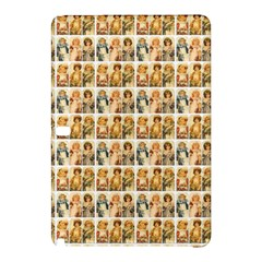 Victorian Girl Labels Samsung Galaxy Tab Pro 10 1 Hardshell Case