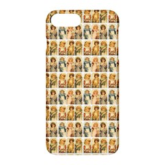 Victorian Girl Labels Apple Iphone 7 Plus Hardshell Case
