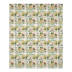 Victorian Flower Labels Shower Curtain 60  X 72  (medium)