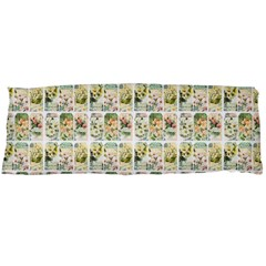 Victorian Flower Labels Body Pillow Case Dakimakura (two Sides)
