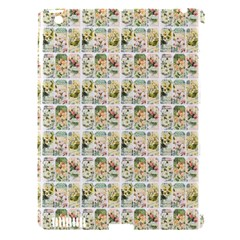 Victorian Flower Labels Apple Ipad 3/4 Hardshell Case (compatible With Smart Cover)