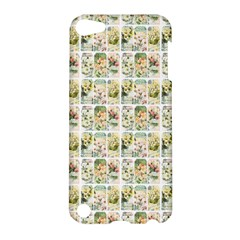 Victorian Flower Labels Apple Ipod Touch 5 Hardshell Case