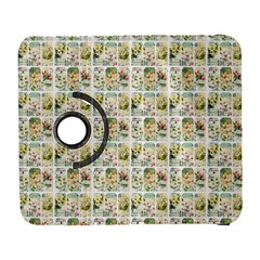 Victorian Flower Labels Samsung Galaxy S  Iii Flip 360 Case