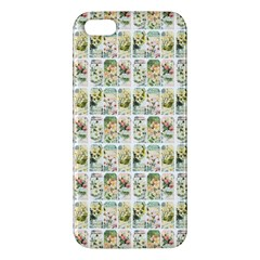 Victorian Flower Labels Iphone 5s/ Se Premium Hardshell Case