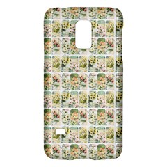 Victorian Flower Labels Samsung Galaxy S5 Mini Hardshell Case