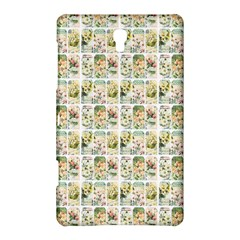 Victorian Flower Labels Samsung Galaxy Tab S (8 4 ) Hardshell Case