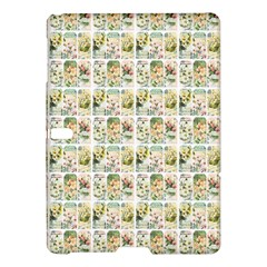 Victorian Flower Labels Samsung Galaxy Tab S (10 5 ) Hardshell Case