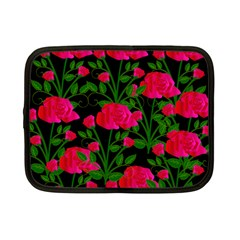 Roses At Night Netbook Case (small)