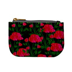 Roses At Night Mini Coin Purse