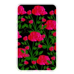 Roses At Night Memory Card Reader (rectangular)