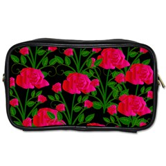 Roses At Night Toiletries Bag (one Side)