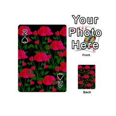 Roses At Night Playing Cards 54 (mini)