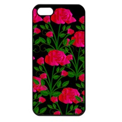 Roses At Night Apple Iphone 5 Seamless Case (black)