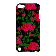 Roses At Night Apple Ipod Touch 5 Hardshell Case by snowwhitegirl