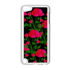 Roses At Night Apple Ipod Touch 5 Case (white)