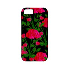 Roses At Night Apple Iphone 5 Classic Hardshell Case (pc+silicone)