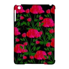 Roses At Night Apple Ipad Mini Hardshell Case (compatible With Smart Cover)