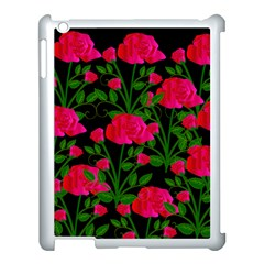 Roses At Night Apple Ipad 3/4 Case (white)