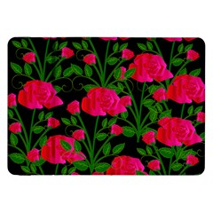 Roses At Night Samsung Galaxy Tab 8 9  P7300 Flip Case
