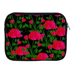 Roses At Night Apple Ipad 2/3/4 Zipper Cases