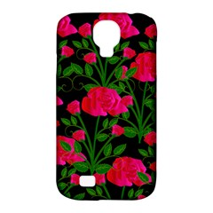 Roses At Night Samsung Galaxy S4 Classic Hardshell Case (pc+silicone)