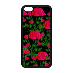 Roses At Night Apple Iphone 5c Seamless Case (black)