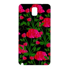 Roses At Night Samsung Galaxy Note 3 N9005 Hardshell Back Case