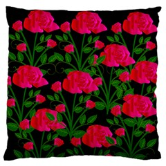 Roses At Night Standard Flano Cushion Case (one Side)