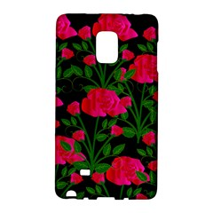 Roses At Night Samsung Galaxy Note Edge Hardshell Case