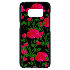Roses At Night Samsung Galaxy S8 Black Seamless Case