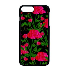 Roses At Night Apple Iphone 8 Plus Seamless Case (black)