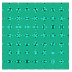 Modern Bold Geometric Green Circles Sm Large Satin Scarf (square) by BrightVibesDesign