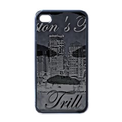 2451 Trill Cover Final Apple Iphone 4 Case (black)