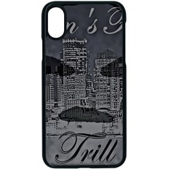 2451 Trill Cover Final Apple Iphone X Seamless Case (black) by RWTFSWIMWEAR