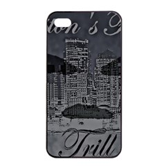 Trill Cover Final Apple Iphone 4/4s Seamless Case (black)