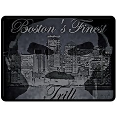 Trill Cover Final Double Sided Fleece Blanket (large)