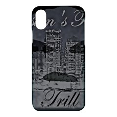 Trill Cover Final Apple Iphone X Hardshell Case by BOSTONSFINESTTRILL