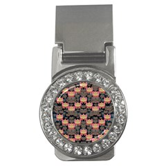 Heavy Metal Meets Power Of The Big Flower Money Clips (cz)  by pepitasart