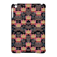 Heavy Metal Meets Power Of The Big Flower Apple Ipad Mini Hardshell Case (compatible With Smart Cover) by pepitasart