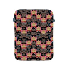 Heavy Metal Meets Power Of The Big Flower Apple Ipad 2/3/4 Protective Soft Cases by pepitasart
