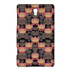 Heavy Metal Meets Power Of The Big Flower Samsung Galaxy Tab S (8 4 ) Hardshell Case