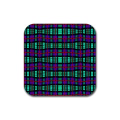 6 Rubber Square Coaster (4 Pack)