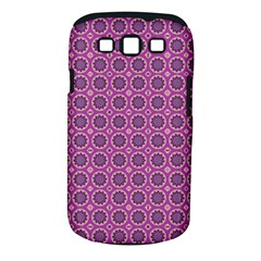 Floral Circles Pink Samsung Galaxy S Iii Classic Hardshell Case (pc+silicone) by BrightVibesDesign