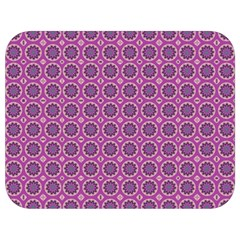 Floral Circles Pink Full Print Lunch Bag