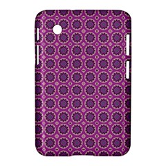 Floral Circles Pink Samsung Galaxy Tab 2 (7 ) P3100 Hardshell Case