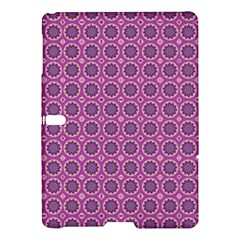 Floral Circles Pink Samsung Galaxy Tab S (10 5 ) Hardshell Case