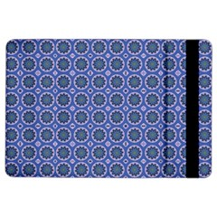 Floral Circles Blue Ipad Air 2 Flip by BrightVibesDesign