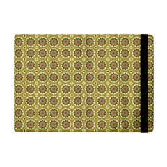 Floral Circles Yellow Ipad Mini 2 Flip Cases by BrightVibesDesign