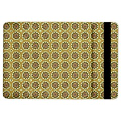 Floral Circles Yellow Ipad Air 2 Flip